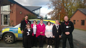 Llangollen police partner with local learning disability college